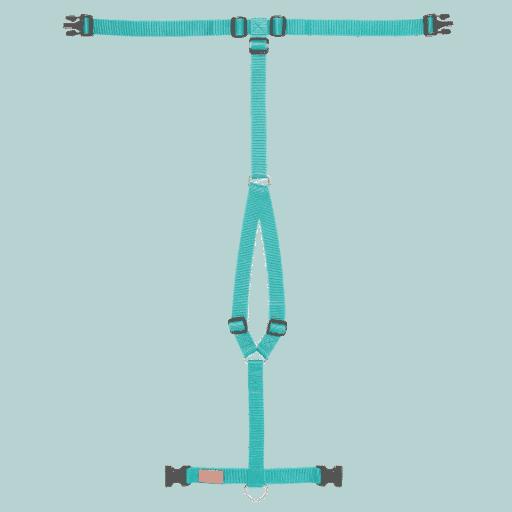 Haqihana tuigje in kleur arctic blue