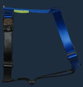 Duo-color tuigje blauw-zwart