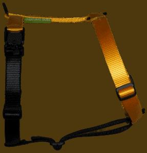 Duo-color tuigje citrusgeel-zwart