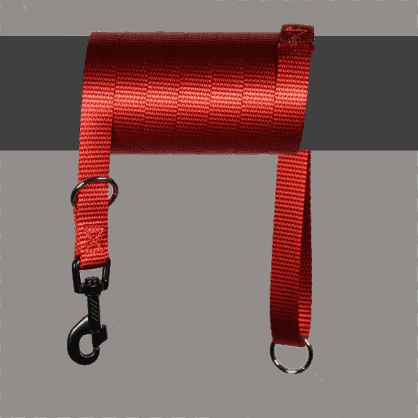 Polyamide lijn in kleur rood